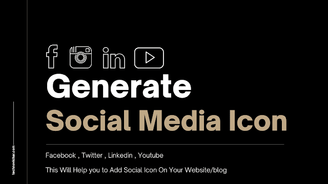 Social_Media_Icon_Generator_For_Website_and_Blog