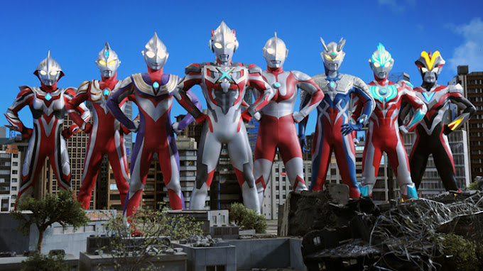 Ultraman X The Movie: Here It Comes! Our Ultraman Subtitle Indonesia