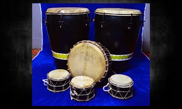 1 Set Perkusi Melayu Custom