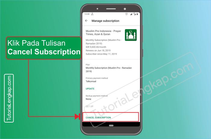Tutorialengkap.com  3 cara berhenti berlangganan layanan aplikasi berbayar dari google pay store