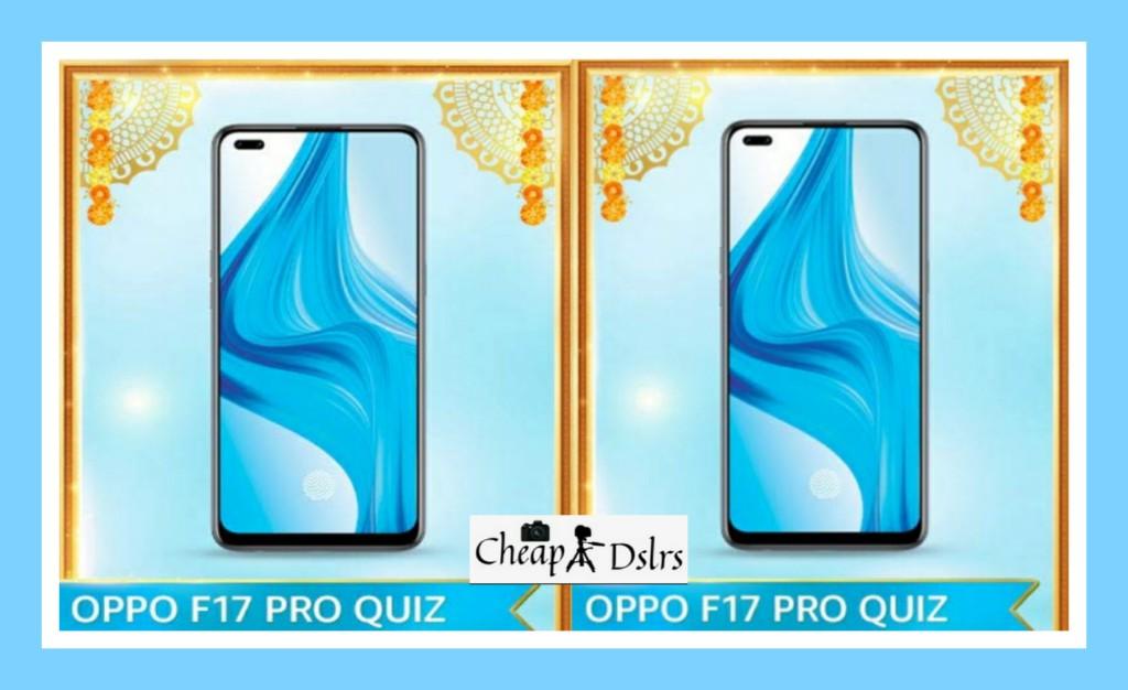 Amazon Oppo F17 Pro Quiz Answers Win – Oppo Smartphone
