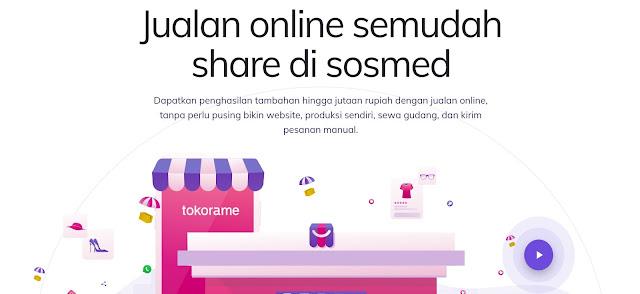Bisnis Online Jadi Mudah dengan Tokorame