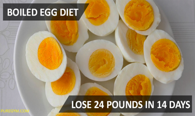 Boiled Egg and Lose weight – Challenge 14 Days