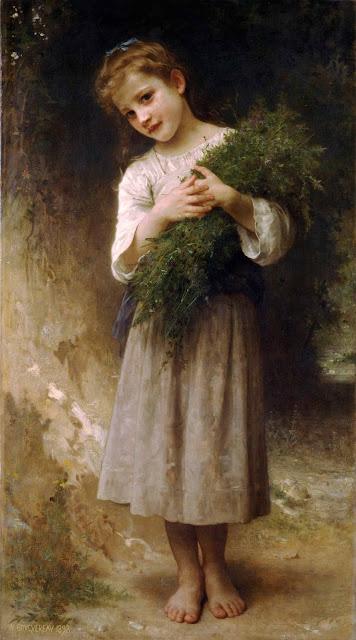 Адольф Вильям Бугро - С полей (1898)