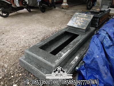Jual Kijing Makam Granit Hitam, Produk Kijing Makam Granit, Batu Nisan Kuburan Granit
