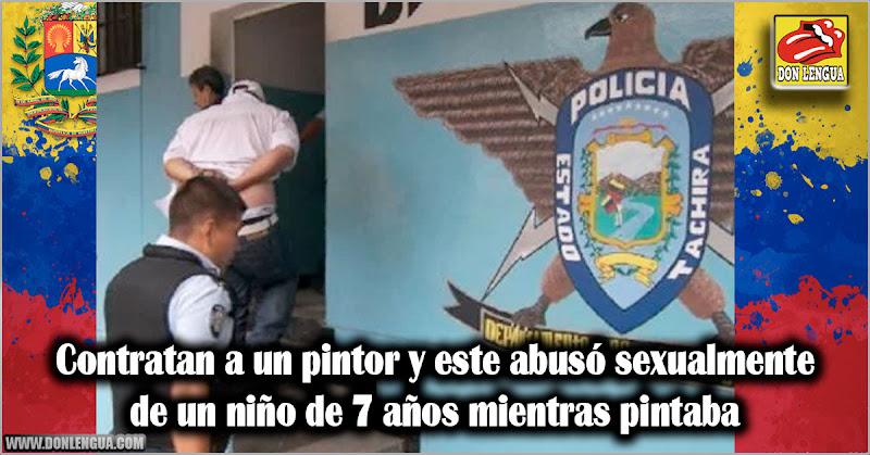 Contratan a un pintor y este abusó sexualmente de un niño de 7 años mientras pintaba