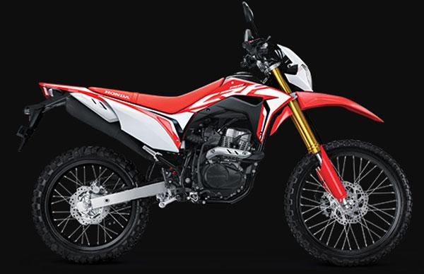 Spesifikasi dan harga Honda CRF 150L 2019