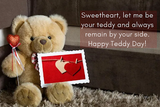 teddy day animated images for love