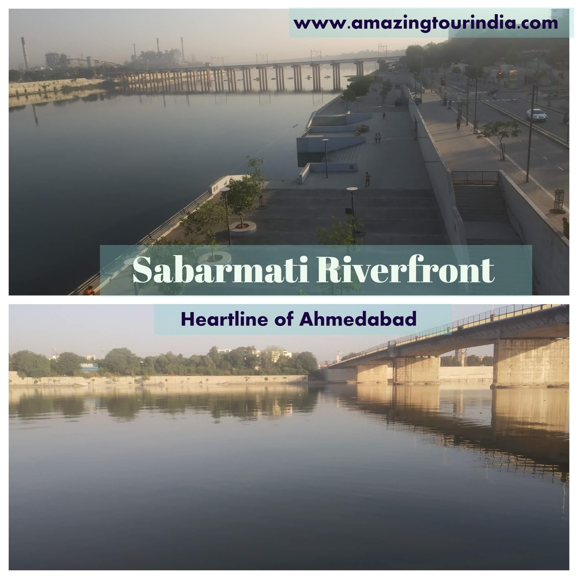 Sabarmati Riverfront - a Heartline of Ahmedabad City