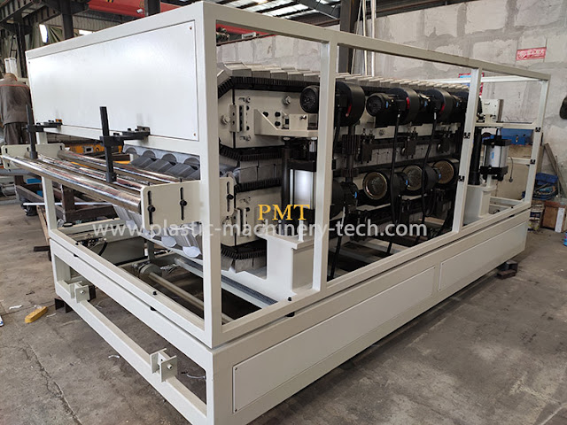 silver white tile making machine forming machine