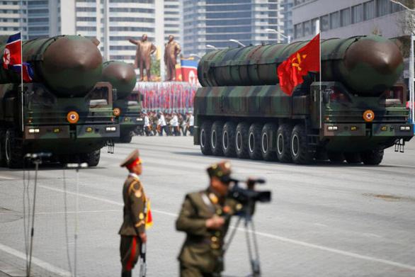 Triều Tiên di chuyển tên lửa đạn đạo?