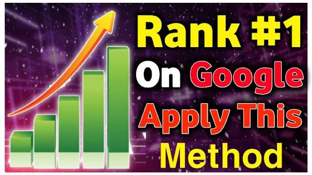 Best Way To Rank Your Blog Website Easily On First Page