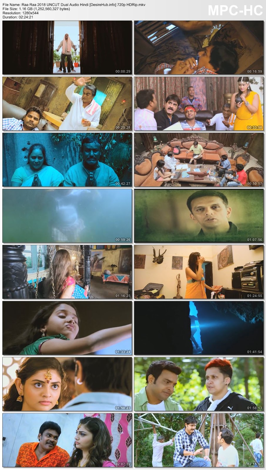 Raa Raa 2018 UNCUT Dual Audio Hindi 720p HDRip 1.1GB Desirehub