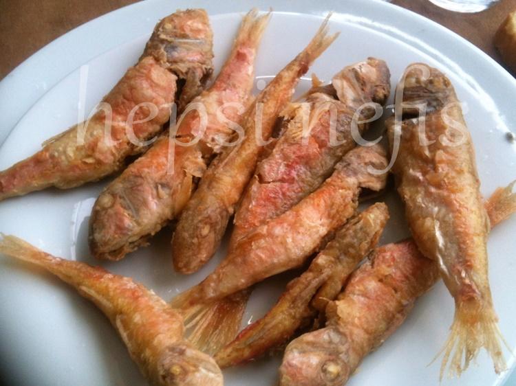 tekir balığı kızartması