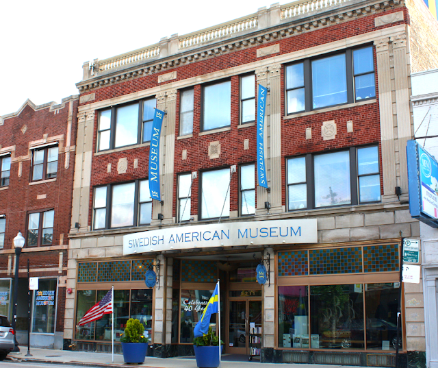 Swedish American Museum in Andersonville.