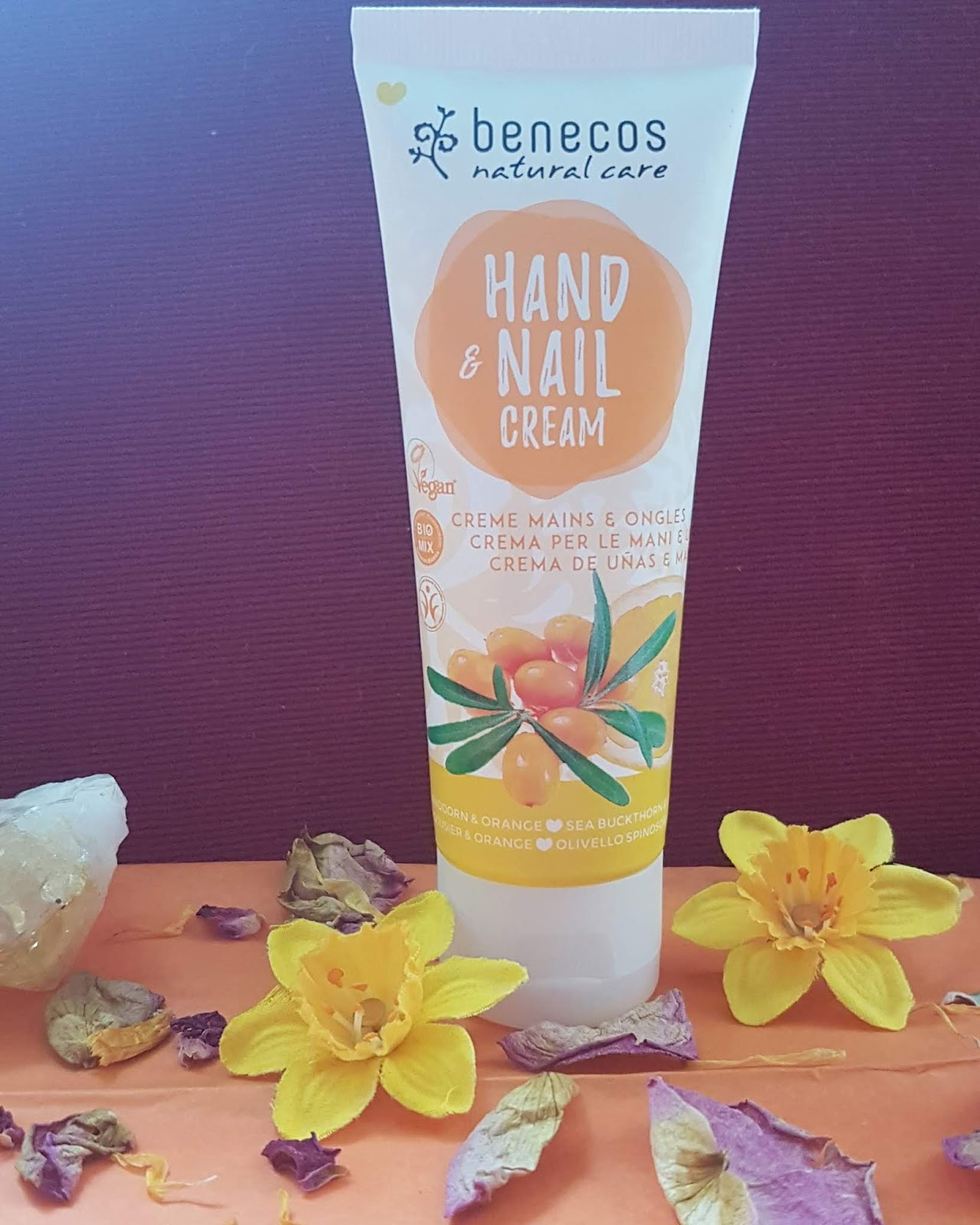 The Natural Beauty Box Review - Benecos Sea Buckthorn & Orange Hand & Nail Cream