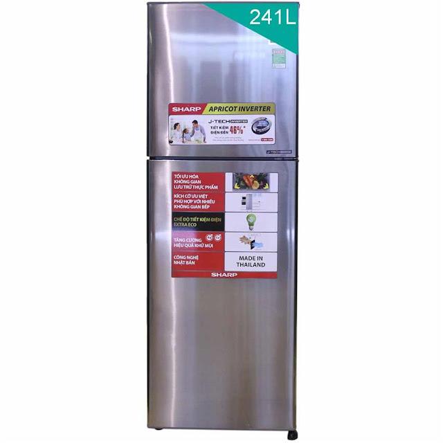 Tủ lạnh Sharp SJ-X251E-DS - 241 Lít