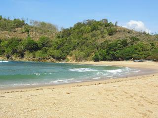 Pantai Pangi Blitar Jatim