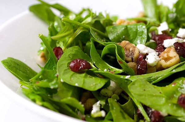 Method of action of watercress salad for burning fat