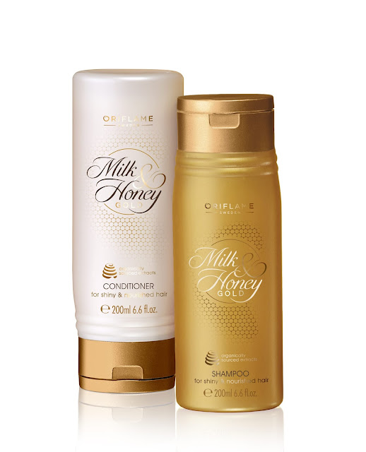 Oriflame's Milk & Honey Gold Shampoo & Conditioner-Rs.329-min