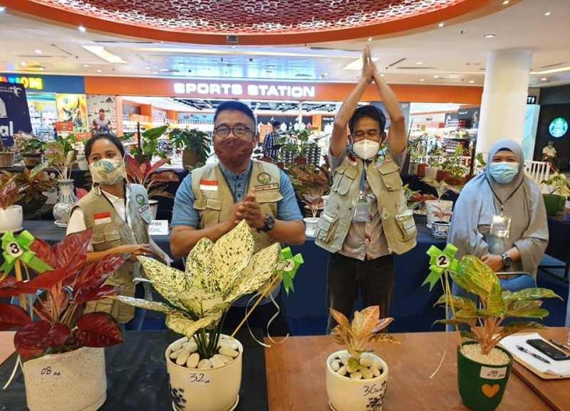 Gairahkan Pariwisata, Kontes Tanaman Hias Pertama di Kota Batam