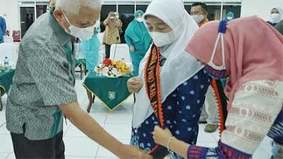 Ny. Hj. Titiek Sugiarti Dikukuhkan sebagai Bunda PAUD Kabupaten Asahan