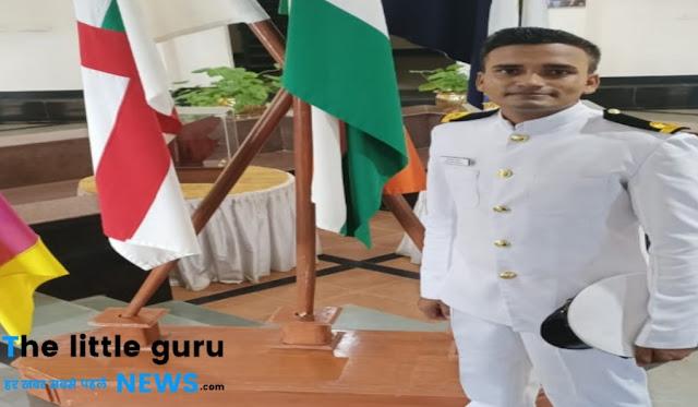 नेवी में लेफ्टिनेंट बने अभिषेक को राष्ट्रीय वैश्य महासभा ने दी बधाई