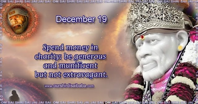 My Sai Blessings - Daily Blessing Messages-Shirdi Sai Baba Today Message 19-12-19