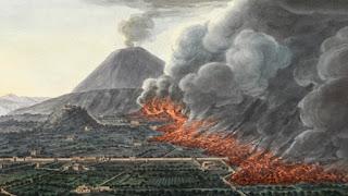 Tutte le eruzioni del Vesuvio dal 79 al 1944