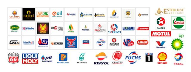 Một vài thương hiệu dầu nhớt tại Việt Nam