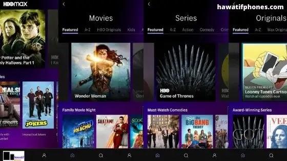 أحسن تطبيق لمشاهدة أحدث الأفلام HBO Max Android