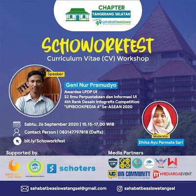 Poster Workshop CV