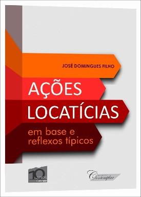 Livro: Ações locatícias / Autor: José Domingues Filho