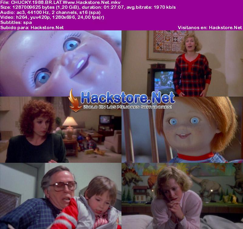 Capturas de Chucky: El Muñeco Diabólico (1988) Blu-Ray RIP HD Latino