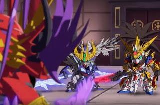 SD Gundam World: Sangoku Souketsuden Episodio 07