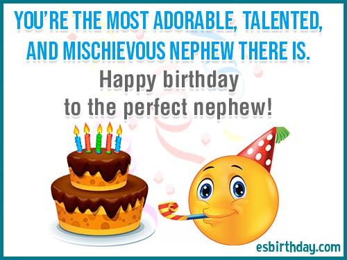Happy Birthday Messages For Nephew