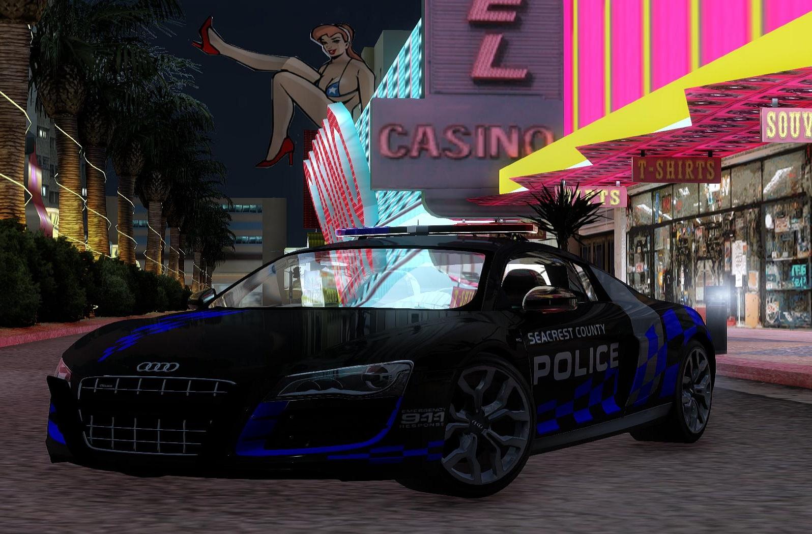 Popo Spot Rel 2011 Audi R8 Nfs Hp Police Car