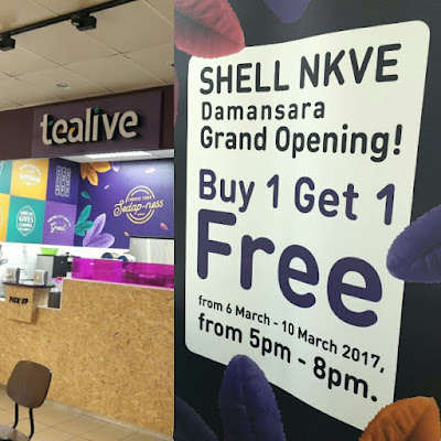 Tealive Asia Buy 1 Free 1 Offer Promo