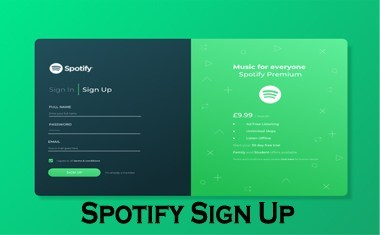 How to Sign Up Spotify