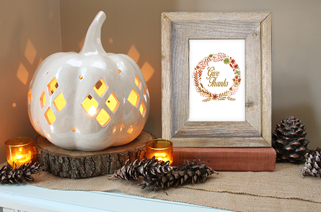 FREEBIES // GIVE THANKS Oh So Lovely Blog