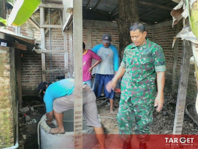 Serka Noor Ahmad Babinsa Pati Kota Aktif Bantu Warga Bangun Jambanisasi
