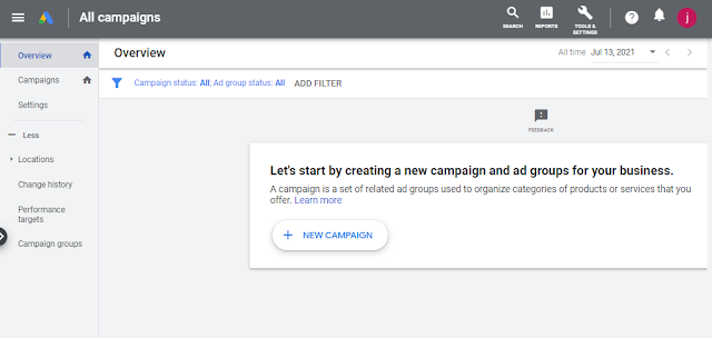 PPC Agency Set up New Google Ad Campaign