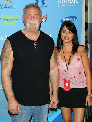 Paul Teutul Sr with his ex-girlfriend