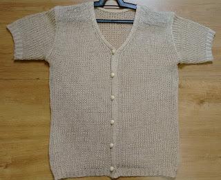 blusa em tricot acetinado M