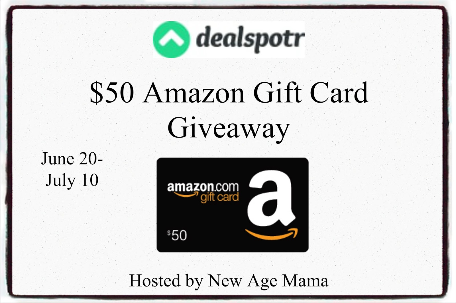 New Age Mama: Sign Up with with Dealspotr to Earn Amazon Gift ...