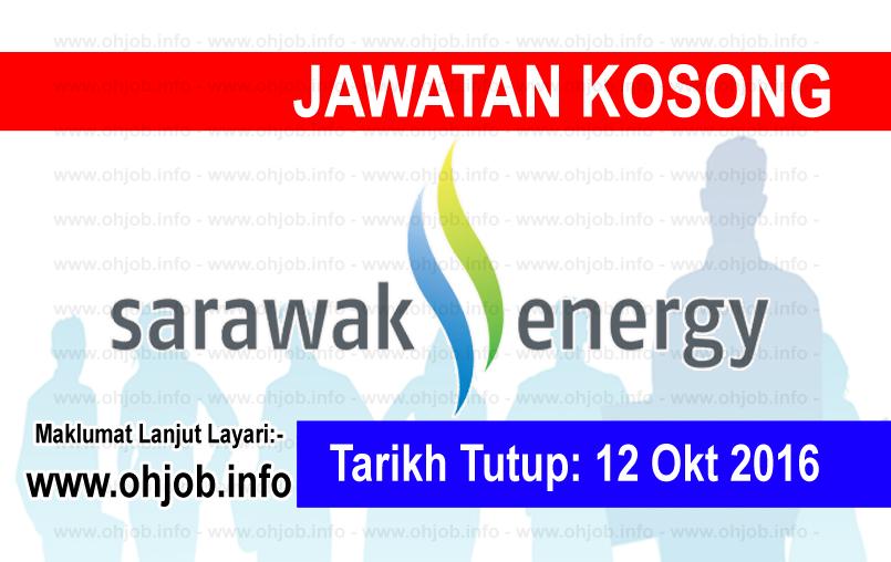 Jawatan Kerja Kosong Sarawak Energy logo www.ohjob.info oktober 2016