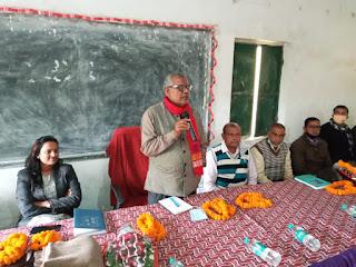 विधायक ने शिक्षा विभाग के अधिकारियों के साथ की बैठक, बोले- शिक्षकों के कंधे पर दोहरी जिम्मेदारी