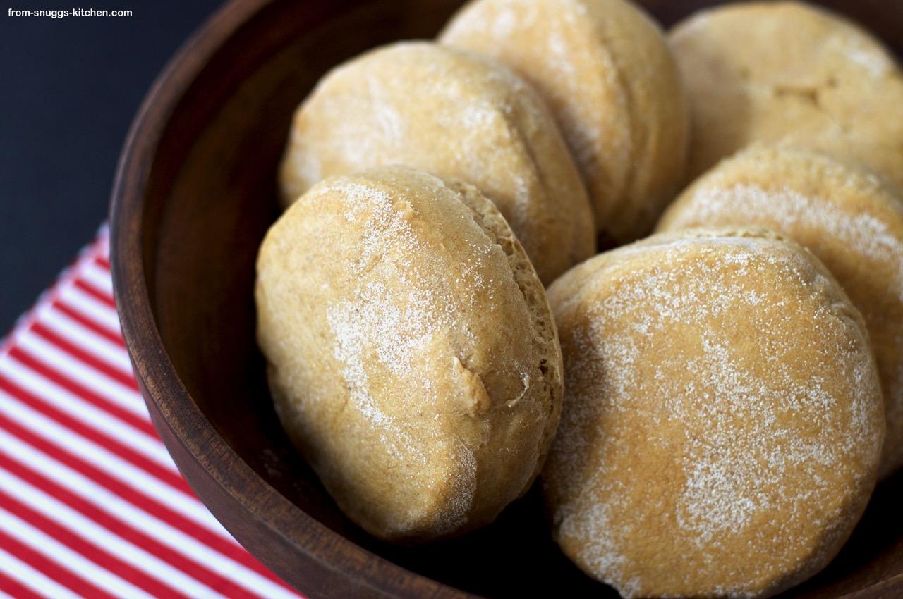Vollkorn-Englisch-Muffins
