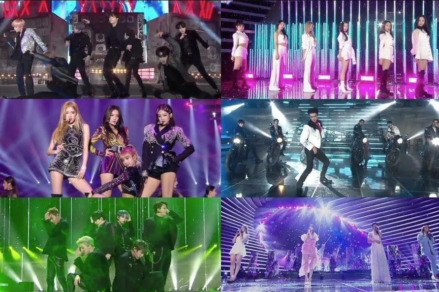 BTS Membawakan 6 Lagu? Ini Dia Penampilan Idola Kpop di SBS Gayo Daejeon 2018