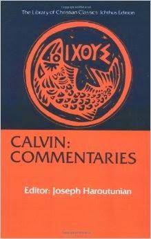 Calvins Commentaries Pdf